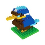 Wholesale - BOYU DIY Diamond Mini Blocks Figure Toy Woodpecker 85Pcs 8216A