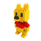 Wholesale - BOYU DIY Diamond Mini Blocks Figure Toy Verney Bear 75Pcs 8108A