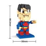 Wholesale - HSANHE DIY Diamond Mini Blocks Figure Toy The Avengers Alliance Superman 8107