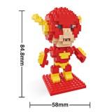 Wholesale - HSANHE DIY Diamond Mini Blocks Figure Toy League of the Just The Flash 8103