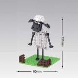 Wholesale - Weagle DIY Diamond Mini Blocks Figure Toy Shaunsheep 257Pcs 2207
