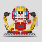Wholesale - LinkGo DIY Diamond Mini Blocks Figure Toy Doraemon Iron Man 264Pcs 9622