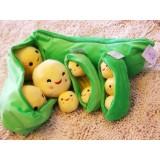 Wholesale - Creative Peas Doll Plush Toy 25cm/9.8inch