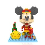 Wholesale - LOZ DIY Diamond Mini Blocks Figure Toy Mickey 350Pcs 9439