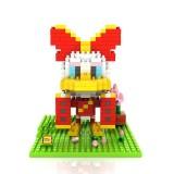 Wholesale - LOZ DIY Diamond Mini Blocks Figure Toy Donald Duck Daisy 320Pcs 9438