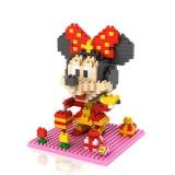 Wholesale - LOZ DIY Diamond Mini Blocks Figure Toy Minnie 350Pcs 9440