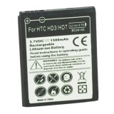 Wholesale - 1500mAh High-quality Injection Molding Replacement Battery for HTC HD3/HD7