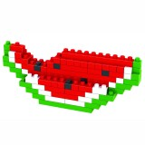 wholesale - LOZ DIY Diamond Mini Blocks Figure Toy Watermelon 90Pcs 9292