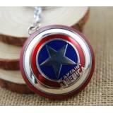 Wholesale - Marvel Captain America Shield Zinc Key Ring