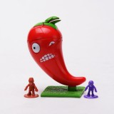 wholesale - Plants Vs Zombies 2 Toys Jalapeno Plastic Spring Toy Figure Display Toy