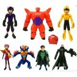 wholesale - Big Hero 6 Baymax Action Figures Toy 8Pcs Set