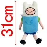 Wholesale - Adventure Time Finn Doll Plush Toy 31cm/12.2inch