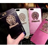 Wholesale - Creative Vintage Chrome Heart Protect Cover Phone Case for Apple iPhone 6 / 6 Plus