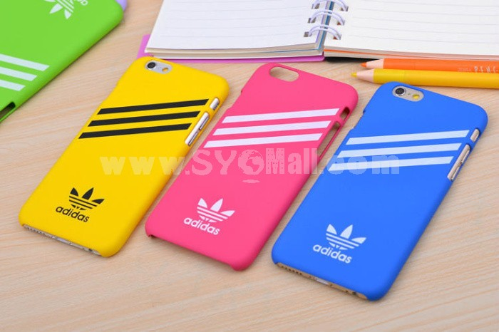 Adidas Fashion Phone Cover Protect Case for Apple iPhone 6 / 6 Plus