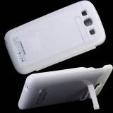 Wholesale - 4300mAh Rechargeable Battery Replacement + Back Cover Case Black for Samsung Galaxy S3 / i9300
