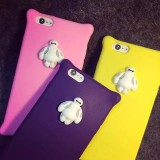 Wholesale - Big Hero 6 Baymax Silicon gel Protection Cell Phone Cases for Apple iPhone 6 / 6 Plus