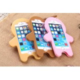 Wholesale - The Gingerbread Man Silicon gel Protection Cell Phone Cases for Apple iPhone 6 / 6 Plus