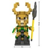 Wholesale - LOZ DIY Diamond Mini Blocks Figure Toy The Avengers Alliance 2 Rocky 350Pcs 9449