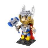 Wholesale - LOZ DIY Diamond Mini Blocks Figure Toy The Avengers Alliance 2 Thor 350Pcs 9448