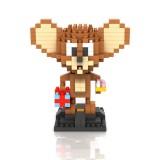 Wholesale - LOZ DIY Diamond Mini Blocks Figure Toy Tom and Jerry Jerry 280Pcs 9446
