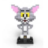 Wholesale - LOZ DIY Diamond Mini Blocks Figure Toy Tom and Jerry Tom 290Pcs 9445