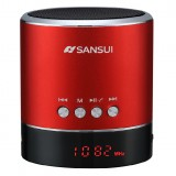 wholesale - Sansui Portable Stereo Speaker Supports MicroSD Card with Wireless Bluetooth Connection and FM Radio