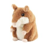 Wholesale - Lovely Talking Hamster Plush Toy Hot Cute Speak Talking Sound Record Hamster Toy 14cm/5.5inch