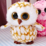 Wholesale - Original TY Big Eyes Collection OWL Plush Toys Stuffed Animals Kids Small Cute Stuffed Animal Doll Toy For Gift 15cm