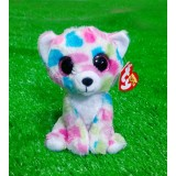 Wholesale - Lovely TY Collection Colorful Leopard Plush Toy Small Charms Stuffed Animal Plush Doll Toys 15cm/5.9inch