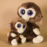 Wholesale - Lovely TY Collection Baby Monkey Plush Toy Small Charms Stuffed Animal Plush Doll Toys 15cm/5.9inch