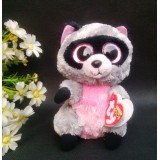 Wholesale - Lovely TY Collection Raccoon Plush Toy Small Charms Stuffed Animal Plush Doll Toys 15cm/5.9inch