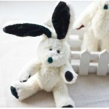 Wholesale - Original Manley White Rabbit  Plush Toys Stuffed Animals Kids Small Cute Stuffed Animal Doll Toy For Gift 15cm/5.9in