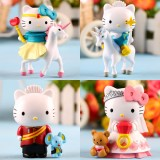 Wholesale - Hello Kitty The Prince and Princess PVC Action Figure Toys 4Pcs Set
