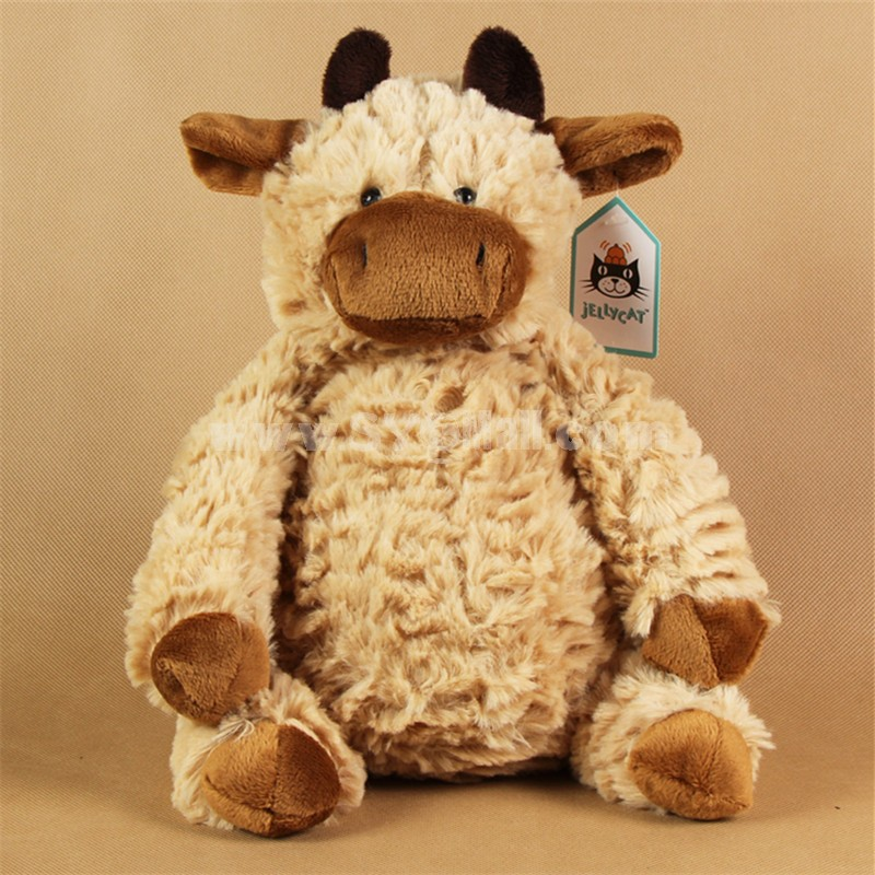 Wholesale - Jellycat Coffee Cow PP Cotton Stuffed Animal Plush Toy ...