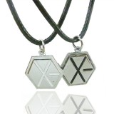 Wholesale - Jewelry Lovers Neckla Created Infinity Chain Pendant EXO Couple Necklace 2Pcs Set XL100