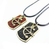 Wholesale - Jewelry Lovers Neckla Created Infinity Chain Pendant Bow and Arrow Couple Necklace 2Pcs Set XL083
