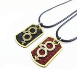 Wholesale - Jewelry Lovers Neckla Created Infinity Chain Pendant Symbol Couple Necklace 2Pcs Set XL081