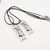Wholesale - Jewelry Lovers Neckla Created Infinity Chain Pendant Spider-Man Couple Necklace 2Pcs Set XL203