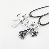 Wholesale - Jewelry Lovers Neckla Created Infinity Chain Pendant Necklace 2Pcs Set XL289