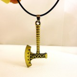 Wholesale - Fashion Character Exaggerated Axe Pendant Necklace Charm Chain Jewelry for Men DG004