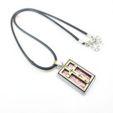 Wholesale - Fashion Character Angel Wings Cross Pendant Necklace Charm Chain Jewelry for Men DG011
