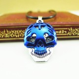 Wholesale - Fashion Character Skull Head Pendant Necklace Charm Chain Jewelry for Men DG122