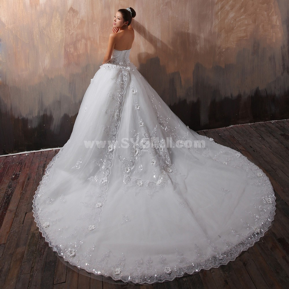 Ball Gown Strapless