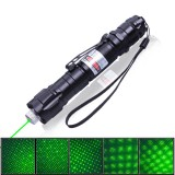 wholesale - 1000MW High Power Green Light Laser Pen Pointer with Starry Sky Projection and Clip
