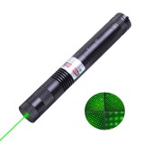 wholesale - 2000MW High Power 532NM Green Laser Pointer Pen Focus Adjustable with Starry Cap 007