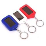 wholesale - Mini Flashlight Rectangle Solar 3 LED Mini Flashlight