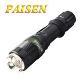 wholesale - PAISEN CREE R2 Mini Mechanical Multi-Focus Waterproof LED Glare Flashlight with Attack Head