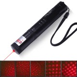wholesale - 200MW 650NM Red Laser Pointer Pen with Starry Cap YL-851