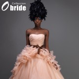 Wholesale - Ball Gown Floor-Length Strapless Wedding Dress