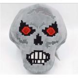 Wholesale - Minecraft MC Figures Plush Toy Stuffed Toy - Small Black Skull 15cm/5.9inch